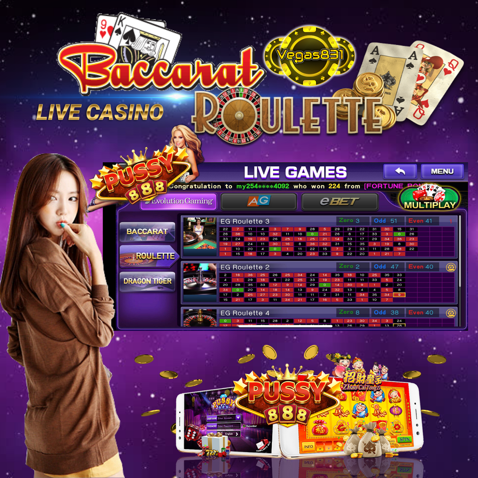 Millionaire Casino Offering An Array Of Card And Table Games