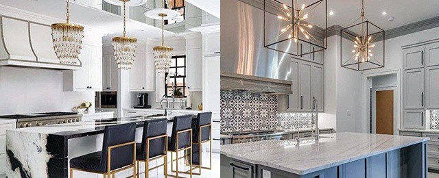 Which Lighting Works Great For Kitchen Island?